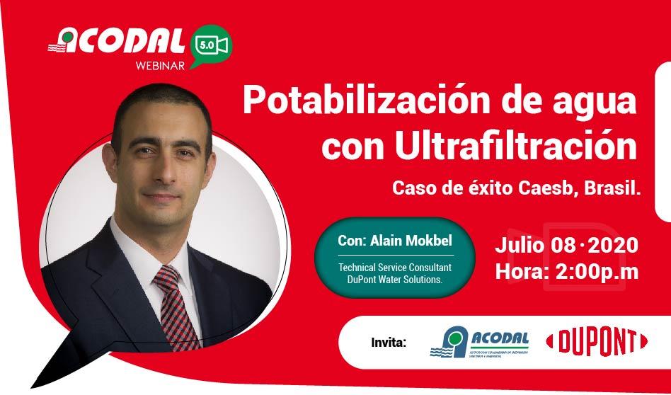 Webinar Potabilización de agua con Ultrafiltración – Caso de éxito Caesb, Brasil