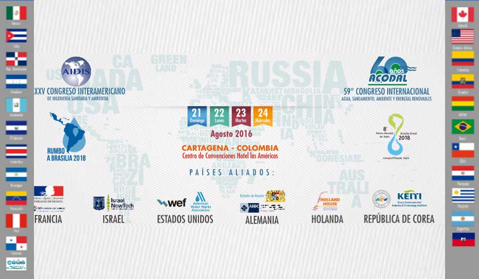 Memorias del 59° Congreso Internacional de Acodal: Agua, Saneamiento, Ambiente y Energías Renovables