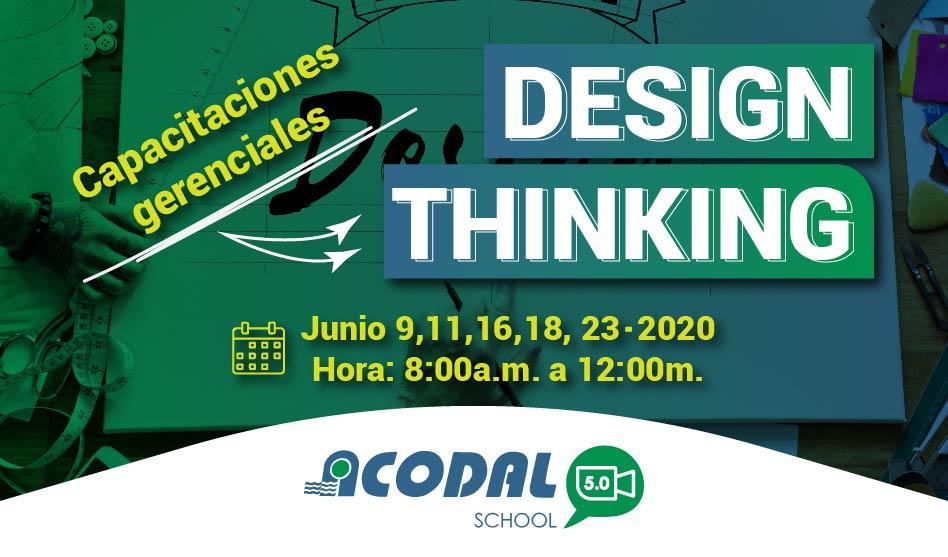 Capacitación Gerencial Design Thinking – ACODAL 5.0