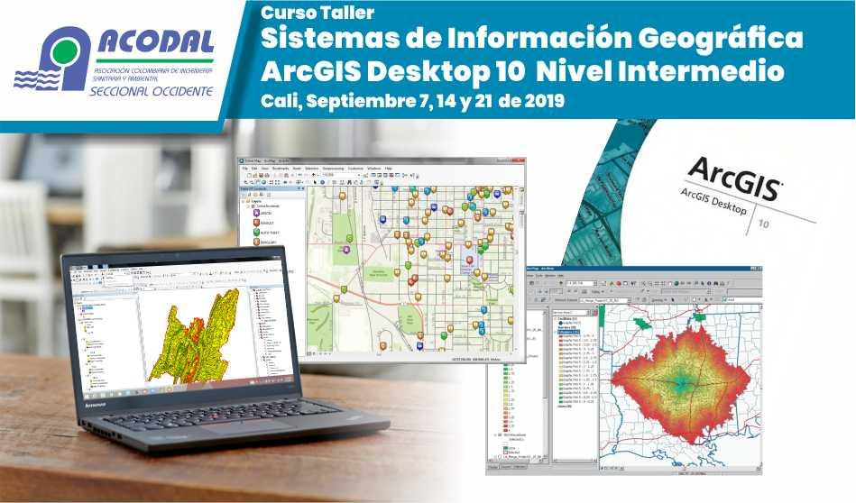 Curso – Taller Sistemas de Información Geográfica ArcGIS Desktop 10 Nivel Intermedio
