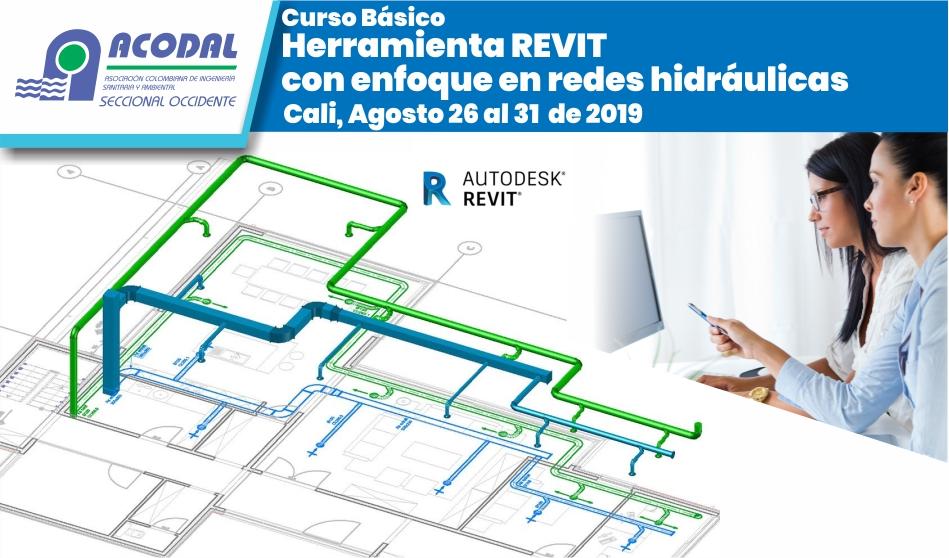 Curso Básico herramienta REVIT con enfoque en redes hidráulicas