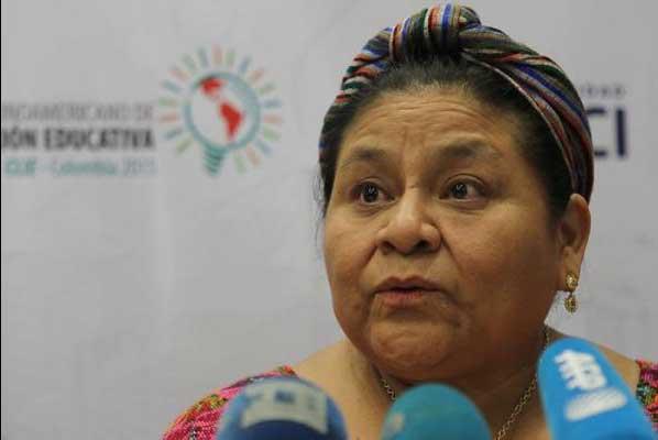 Rigoberta Menchú invitada de honor en congreso de Acodal en Cartagena