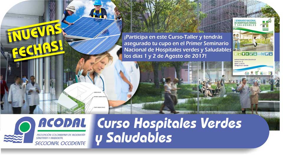 CURSO HOSPITALES VERDES Y SALUDABLES