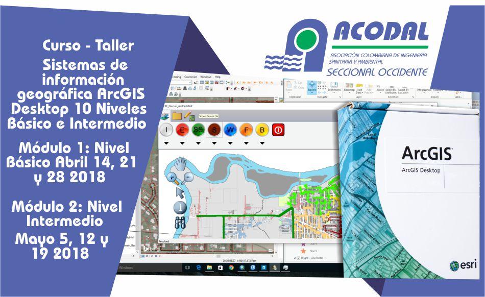 CURSO – TALLER SISTEMAS DE INFORMACIÓN GEOGRÁFICA ARC GIS DESKTOP 10.