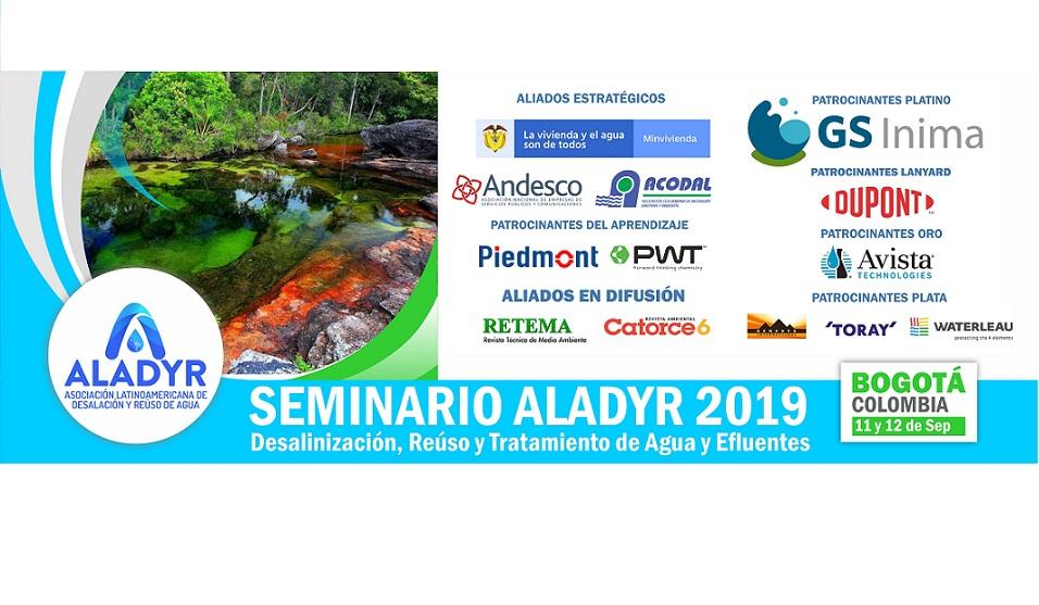 """III Edición del Seminario Internacional ALADYR """" Desalación, Reúso y Tratamiento de Agua y Efluentes"""""""