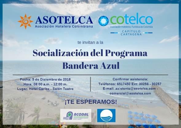 Socialización del Programa Bandera Azul