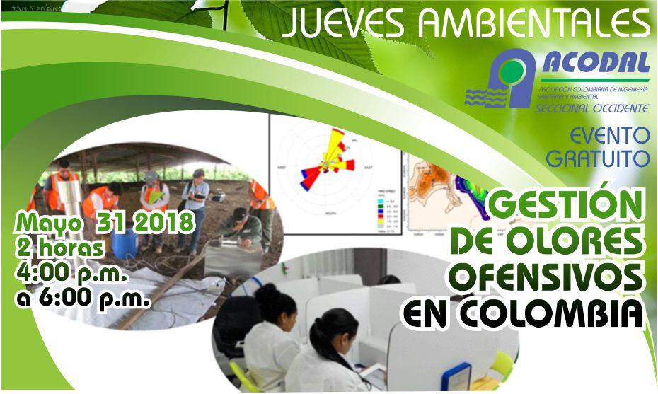 """JUEVES AMBIENTAL """"GESTIÓN DE OLORES OFENSIVOS EN COLOMBIA"""""""