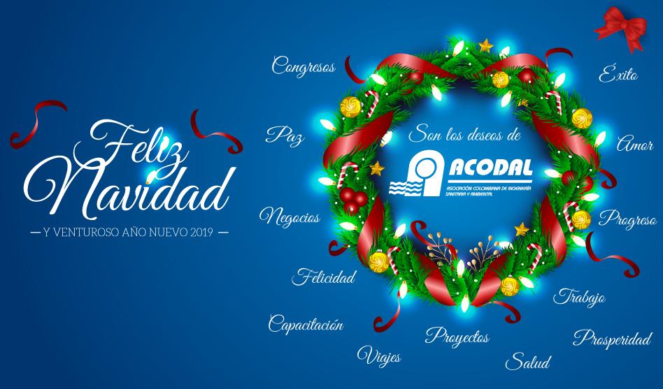 ACODAL les desea una Feliz Navidad y un venturoso año 2019