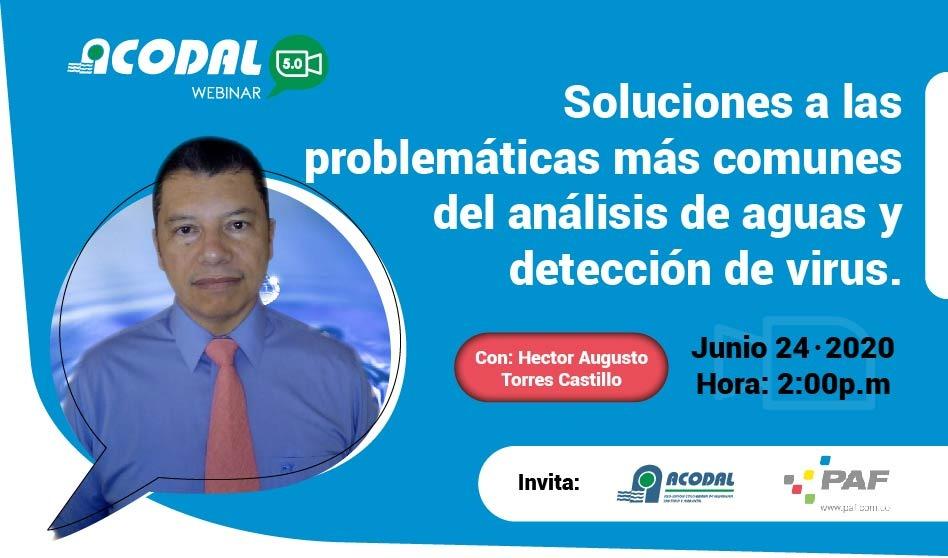 WEBINAR Soluciones a las problemáticas más comunes del análisis de aguas y detección de virus
